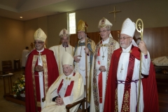 The Right Reverend James Randall Hiles consecrated Bishop